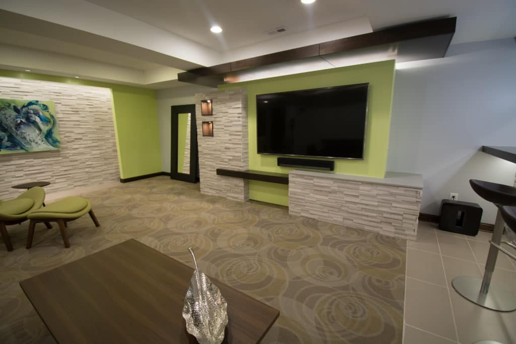 basement theater designers Indianapolis IN