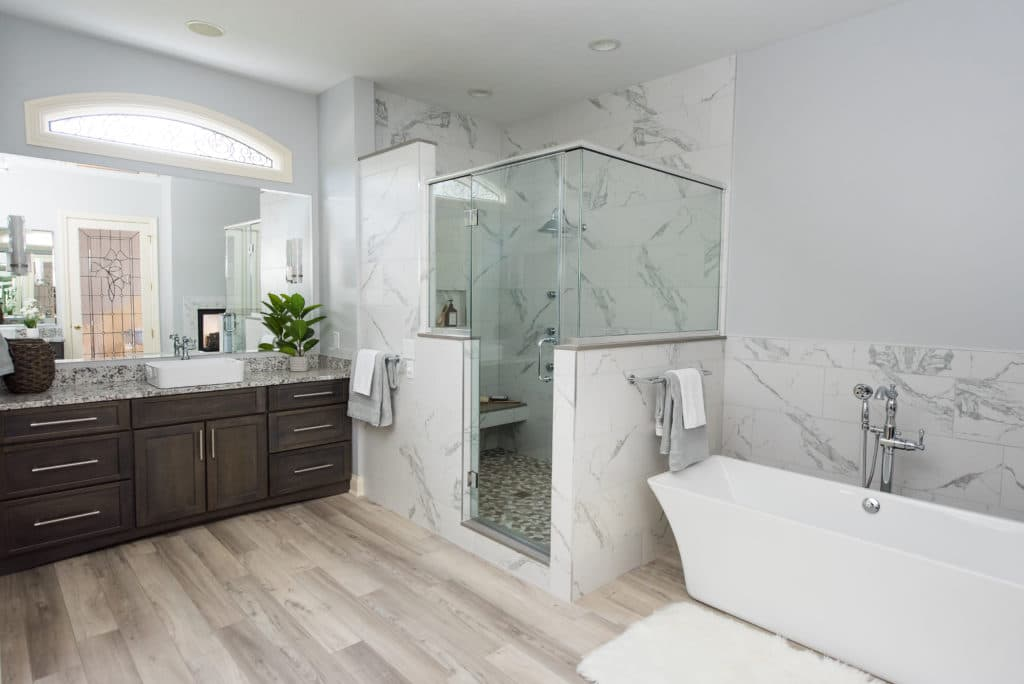 master bathroom remodel Indianapolis IN