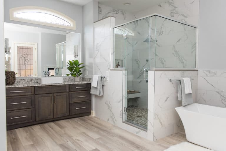 custom bathroom contractor Carmel IN