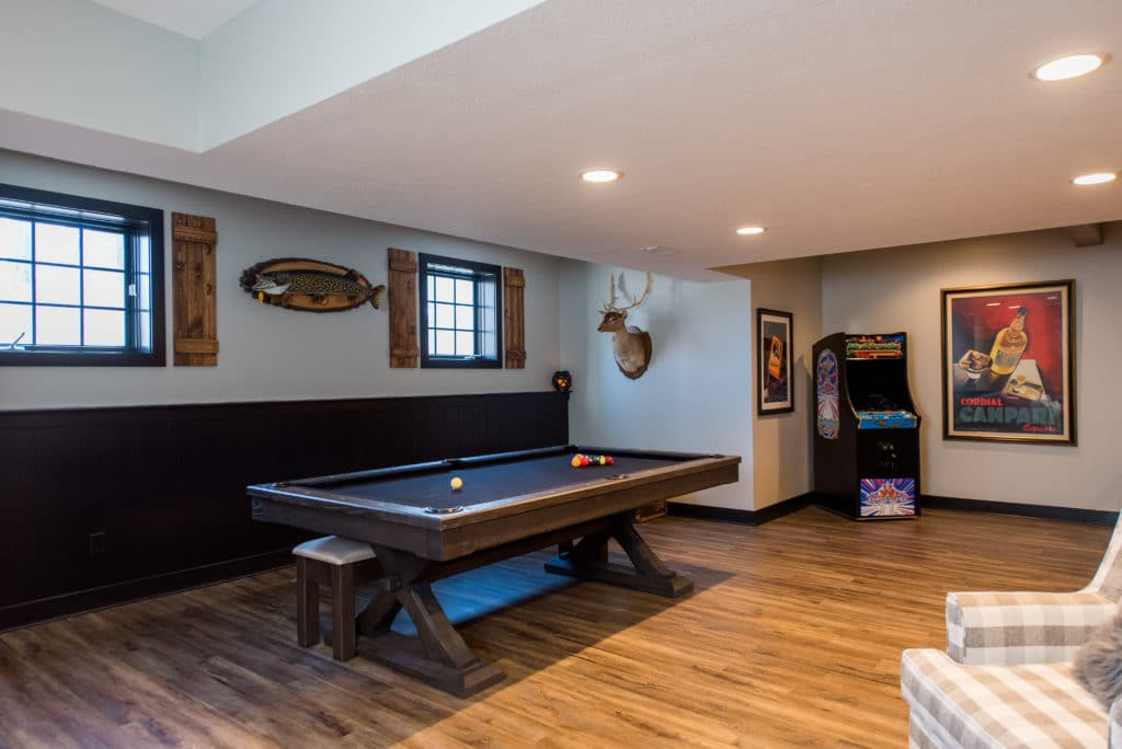 home basement remodel Carmel IN