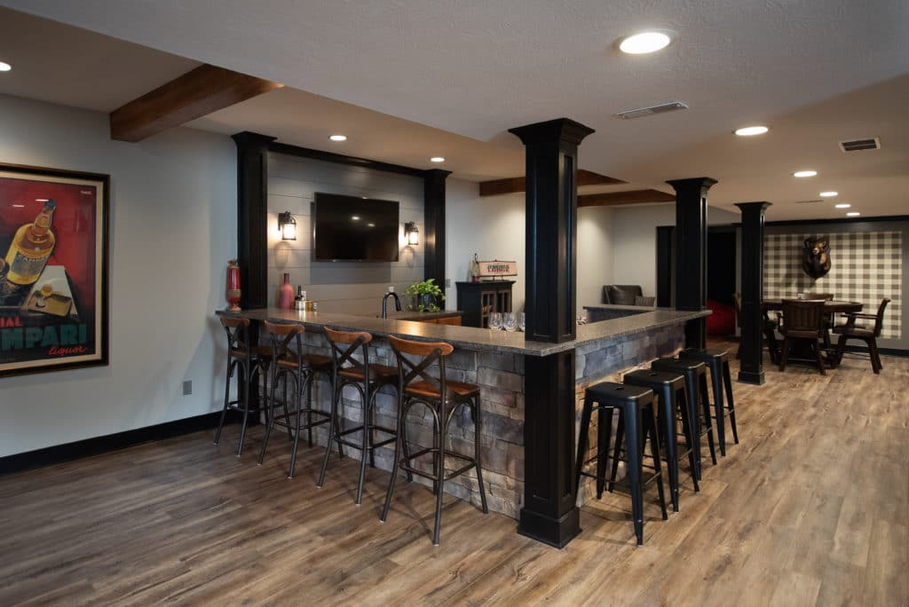 Basement Remodeling And Finishing Nicholas Design Build