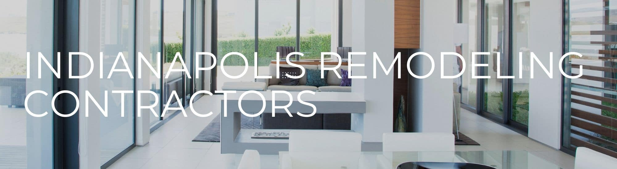 Indianapolis Remodeling Contractors