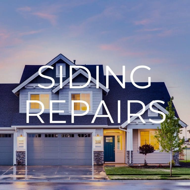 siding repairs in fishers indiana