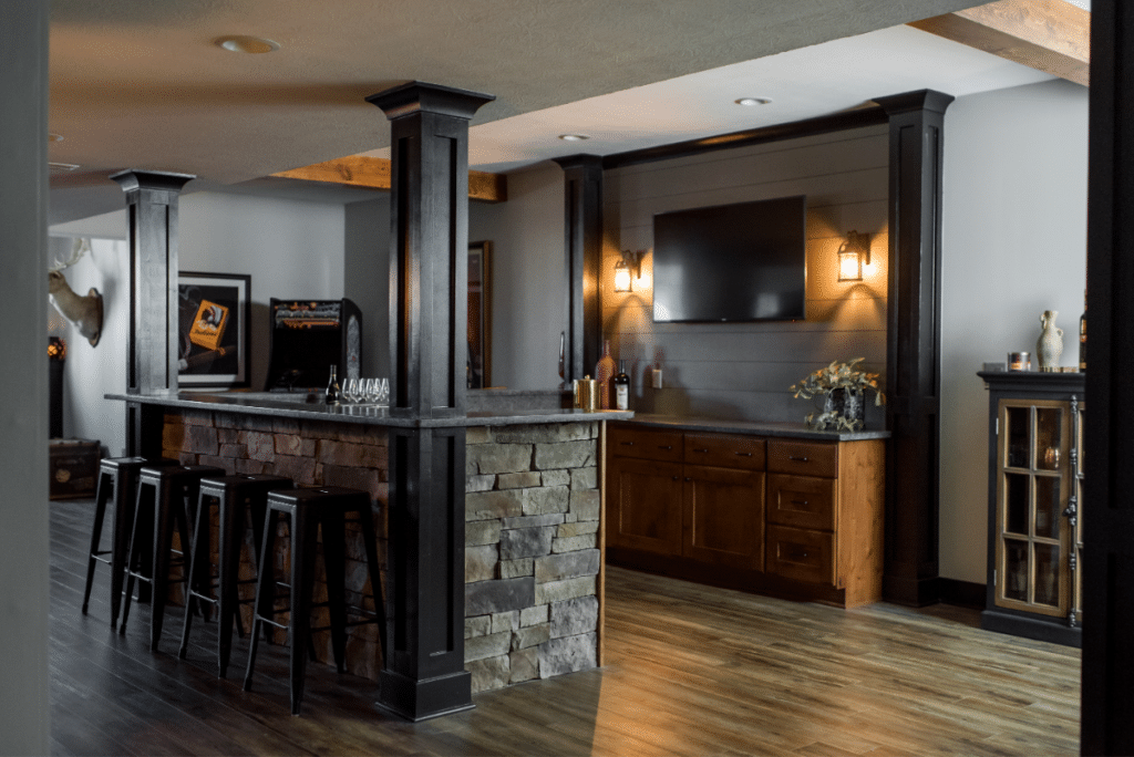 basment remodeling in Indianapolis