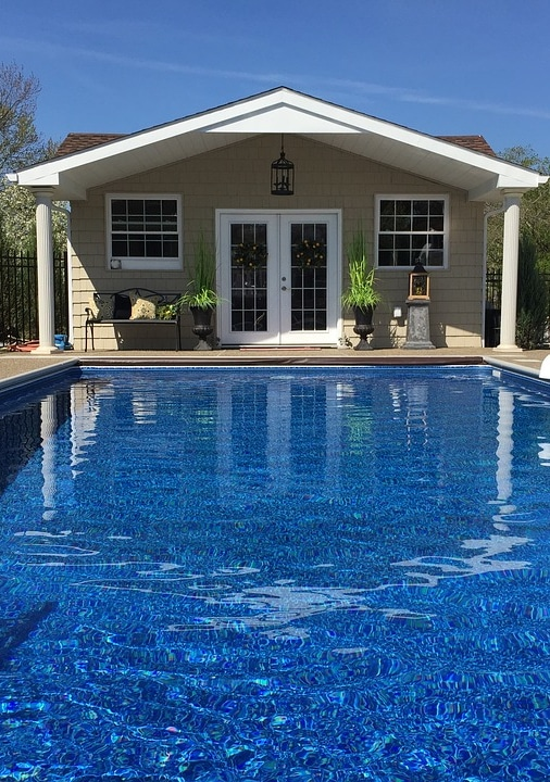pool house remodel